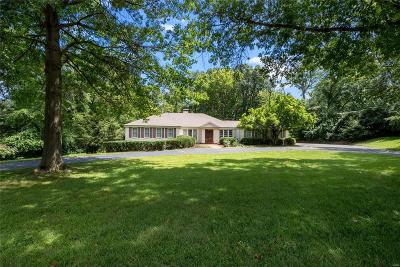 St Louis Single Family Home For Sale: 2140 North Ballas Road