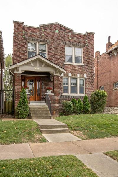St Louis Single Family Home For Sale: 5944 De Giverville Avenue