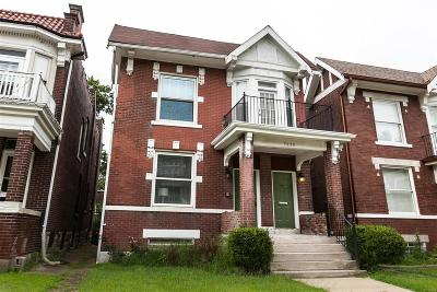 St Louis City County Single Family Home For Sale: 5828 Westminster