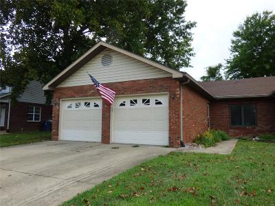 Glen Carbon Single Family Home For Sale: 9 Old Orchard Lane