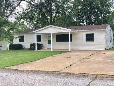 Gray Summit MO Single Family Home For Sale: $133,000
