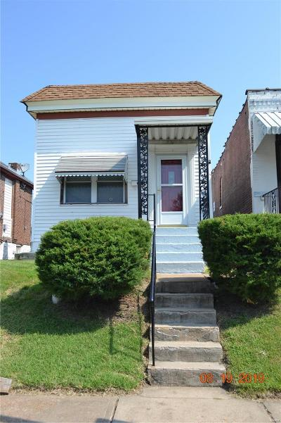 St Louis City County Single Family Home For Sale: 4441 Gannett Street