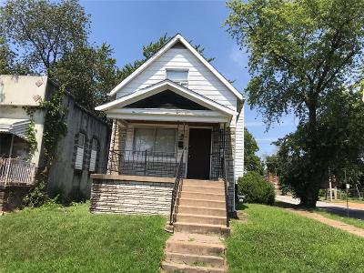 St Louis Single Family Home For Sale: 5477 Gilmore Avenue