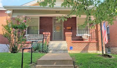 St Louis Single Family Home For Sale: 5034 Tennessee Avenue