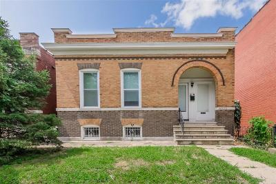 St Louis MO Single Family Home For Sale: $100,000
