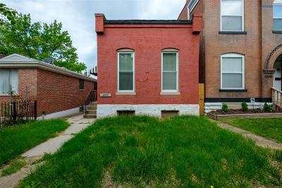 St Louis MO Single Family Home For Sale: $95,000