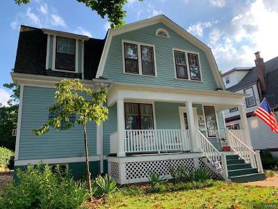 Webster Groves Single Family Home For Sale: 620 Clark Avenue
