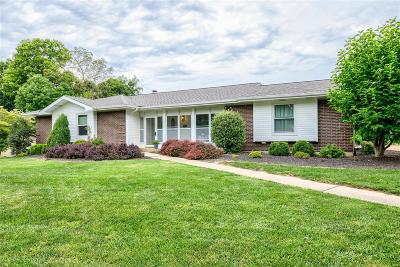 St Louis County Single Family Home Active Under Contract: 13289 Windbrooke Lane