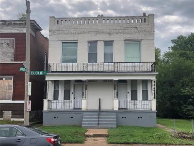 St Louis Multi Family Home For Sale: 1232 North Euclid Avenue
