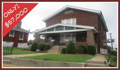 St Louis MO Multi Family Home For Sale: $57,000