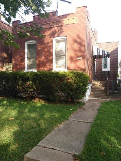 St Louis Single Family Home For Sale: 4424 Tennessee Avenue