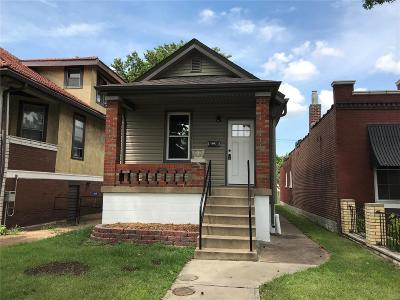 St Louis Single Family Home For Sale: 5317 Bischoff Avenue