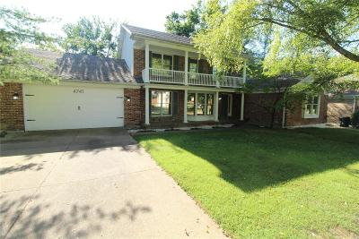 St Louis County Single Family Home For Sale: 4741 Candleglow Drive