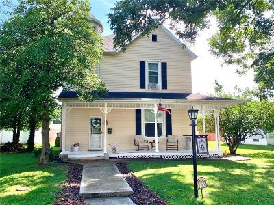 Freeburg Single Family Home For Sale: 105 South Alton Street
