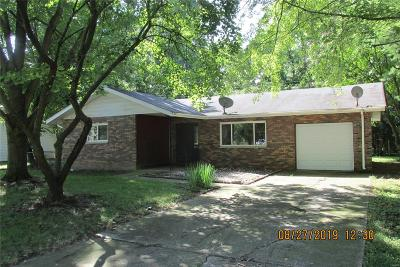 Caseyville Single Family Home For Sale: 8718 Parkdale Drive