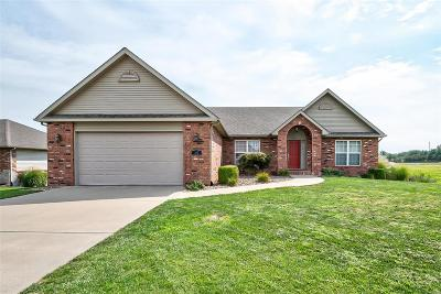Fairview Heights Single Family Home For Sale: 202 Arbor Meadows Court