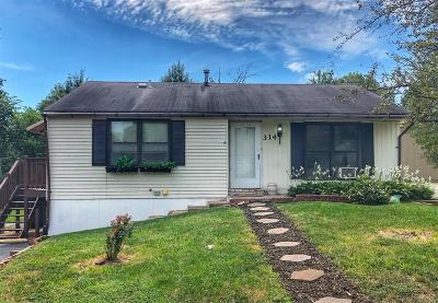 Single Family Home For Sale: 314 Meacham