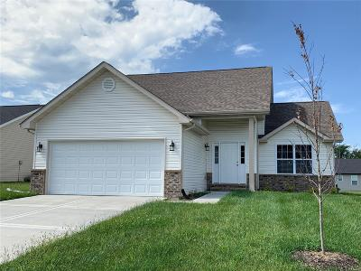 Caseyville Single Family Home For Sale: 7910 Laurel Flats Drive