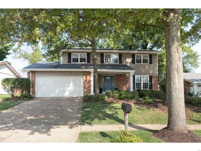 St Louis County Single Family Home Active Under Contract: 1013 Summer Tree Drive