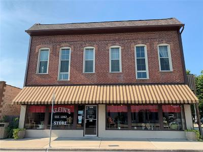 Bethalto Commercial For Sale: 128 West Central