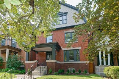 St Louis City County Single Family Home For Sale: 4622 Westminster Place