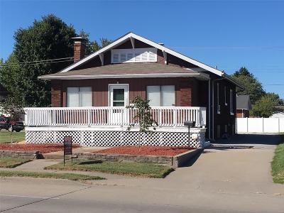 Granite City Single Family Home For Sale: 2153 Pontoon Road