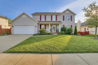 Wentzville Single Family Home For Sale: 512 Great Oaks Meadow Dr