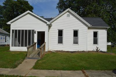 Canton MO Single Family Home For Sale: $43,500