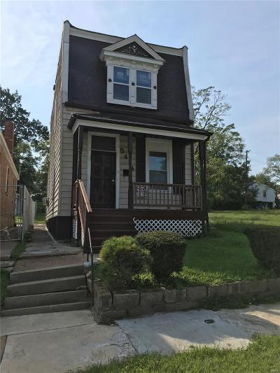St Louis Single Family Home For Sale: 5414 Plover Avenue