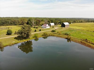 Franklin County, Gasconade County, Maries County, Phelps County, Osage County, Crawford County Farm For Sale: 4386 Durbin Road