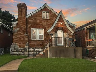 St Louis Single Family Home For Sale: 5453 Eichelberger Street