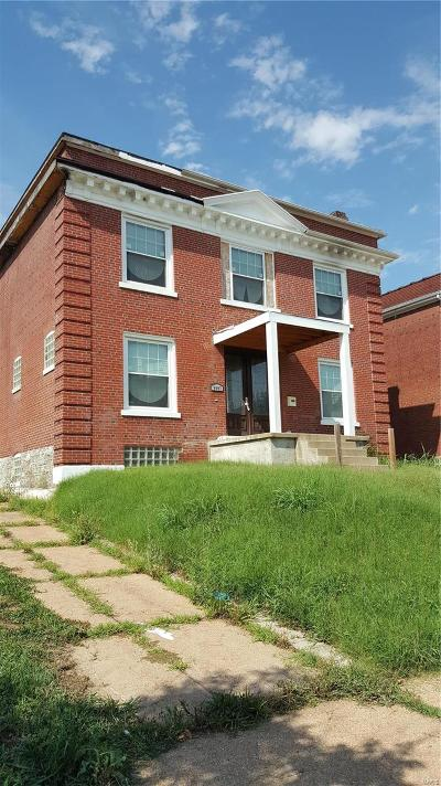 St Louis Single Family Home For Sale: 6007 Cates