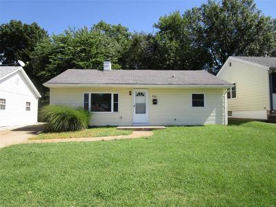 St Louis MO Single Family Home For Sale: $115,000