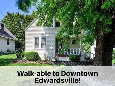 Edwardsville Single Family Home For Sale: 115 East Dunn Street