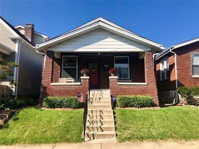 St Louis Single Family Home For Sale: 4858 Goethe Avenue