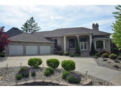 Edwardsville Single Family Home For Sale: 2016 Golf Course View Drive
