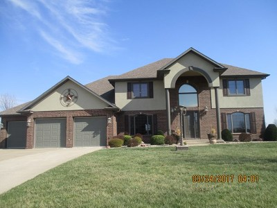 Kirksville Single Family Home For Sale: 510 Lakeside Manor Drive