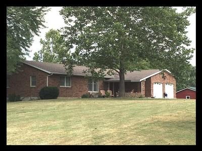La Plata Single Family Home For Sale: 22997 Foxroad,