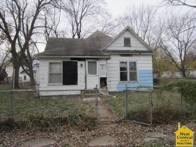 Sedalia MO Single Family Home For Sale: $22,000