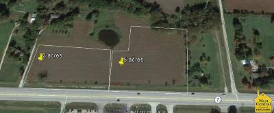 Residential Lots & Land For Sale: 5 Acres NW Hwy 7