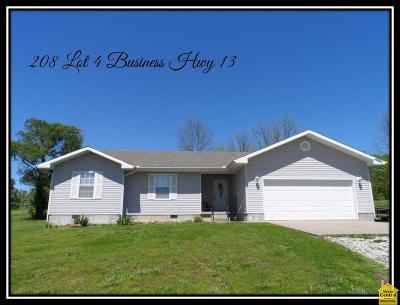Osceola Single Family Home For Sale: 208 Bus Hwy 13