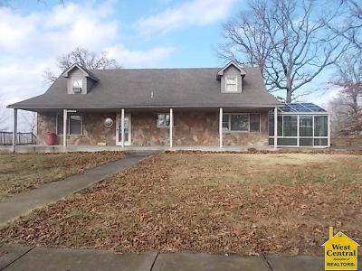 Benton County, Henry County, Hickory County, Saint Clair County Single Family Home For Sale: 9255 Hwy Zz