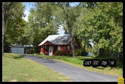 Knob Noster Single Family Home Sale Pending/Backups: 110 W 7th St