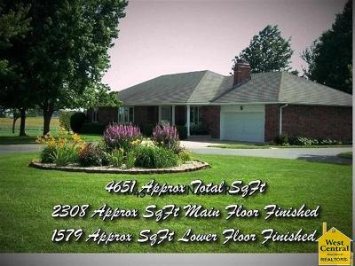 Knob Noster Single Family Home For Sale: 10456 Knob Noster