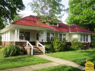 Appleton City Single Family Home Sale Pending/Backups: 201 E 6th St