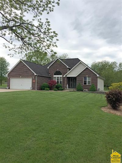 Sedalia Single Family Home For Sale: 4120 Apple Ridge Rd