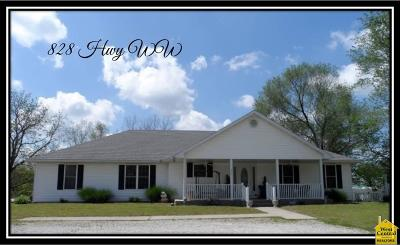 Osceola Single Family Home For Sale: 828 Hwy Ww