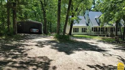 Sedalia Single Family Home For Sale: 1210 McVey Road