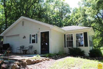 Benton County, Henry County, Hickory County, Saint Clair County Single Family Home For Sale: 11296 NE 1196 Pvt Rd