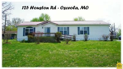 Osceola Single Family Home For Sale: 125 Houston Rd